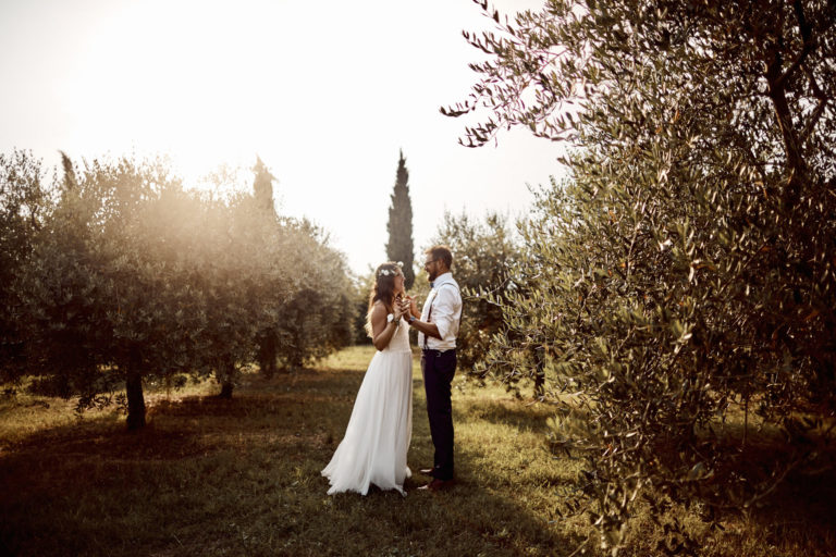 Hochzeit Jessica & Christian in Italien