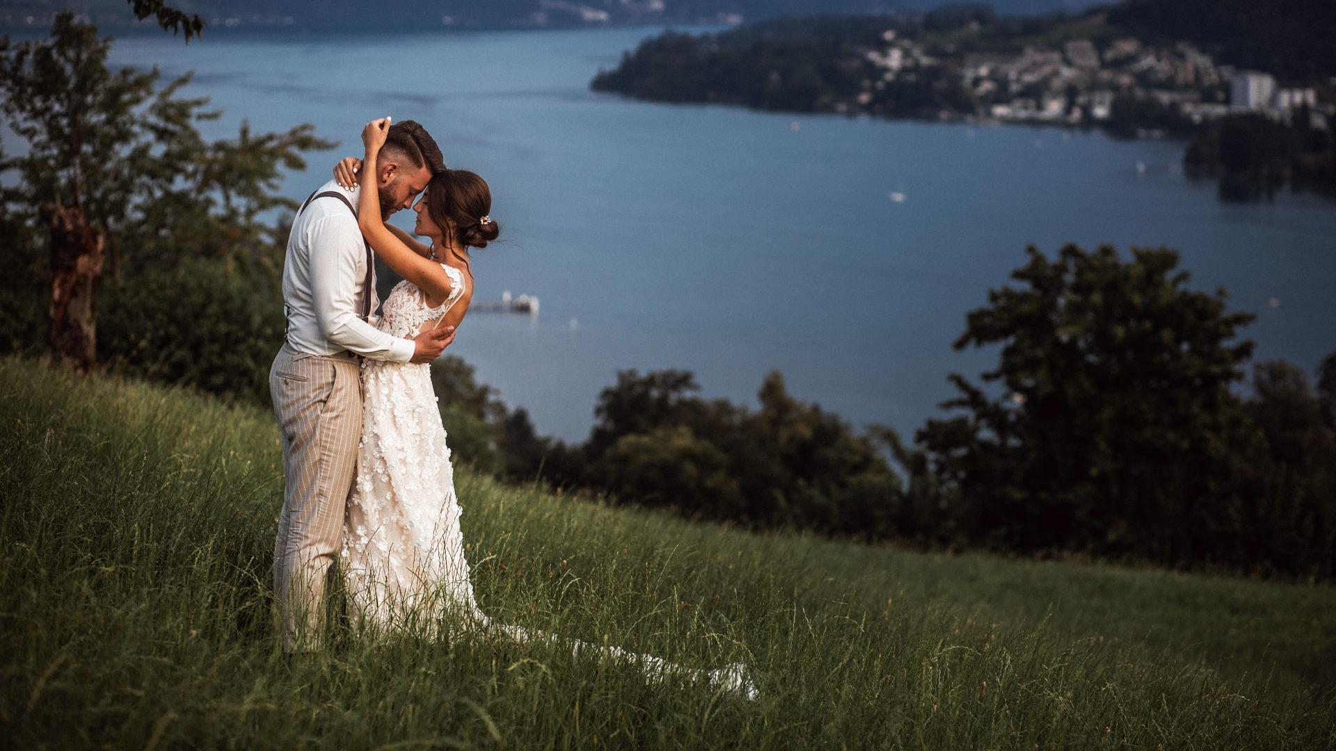 Hochzeit von Angela & Leandro in Luzern